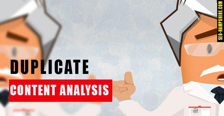 Duplicate Content Analysis Service - SEO Hampshire